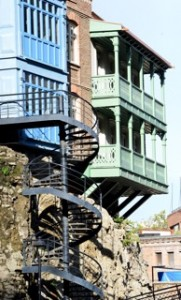 Die historischen Gebäude von Tiflis.2