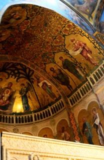 Die prächtigen Gewöble von Tiflis