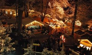 Weihnachtsmarkt Dinkelsbühl. Foto: Ingrid Wenzel