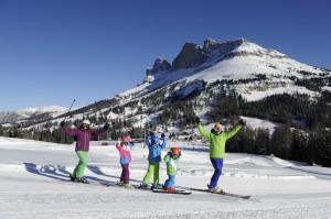 Skifahren im Unesco-Welterbe