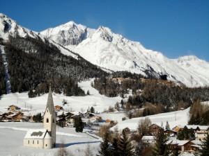 Dorf Kals mit Dorf Gradonna