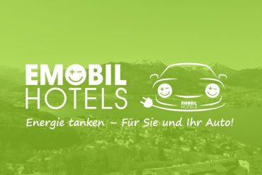 Neue Online-Plattform EmobilHotels zeigt Hotels mit Ladestation für Elektroautos im Alpenraum