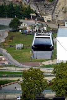 Eine der beiden Cable Car in Tiflis