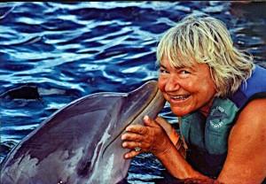Elke mit Delphin1