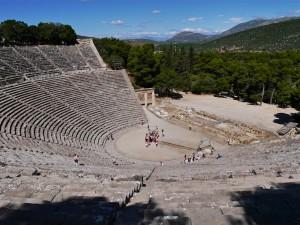 Epidaurus, besterhaltenes antikes Theater in Griechenland_©rwg