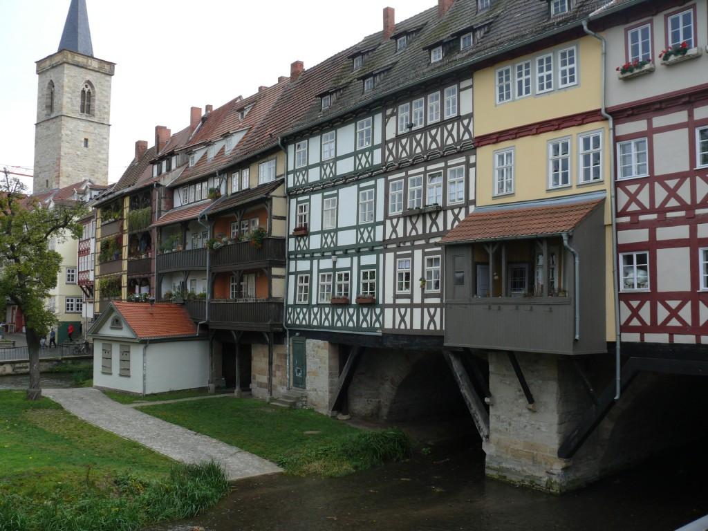 Erfurt mit Krämerbrücke