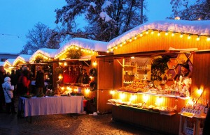 In Fürstenfeld ist der größte Weihnachtsmarkt des Steirischen Thermenland. Foto: TV Fürstenfeld