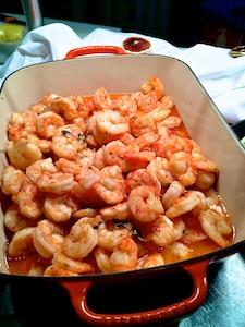 FR AROSA Buffet Shrimps