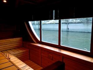 FR AROSA Sauna mit Ausblick