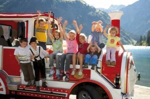 Der Tanni-Kinderclub hat jeden Tag ein abwechslungsreiches Programm. Foto: Tannheimer Tal.