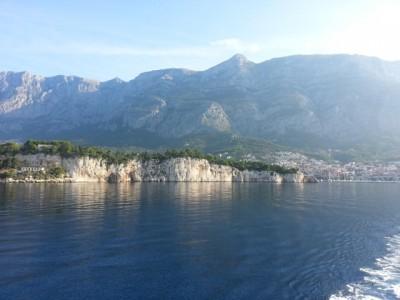 Felsküste bei Makarska