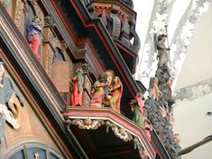 Figurenspiel Astronomische Uhr Marienkirche Rostock 2016-04-23 Foto Elke Backert (1)