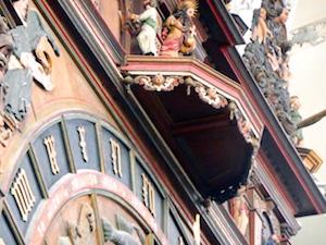 Figurenspiel Judas Astronomische Uhr Marienkirche Rostock 2016-04-23 Foto Elke Backert (1)