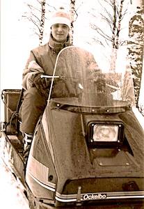 Finnland Skiskooter