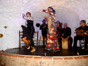 Flamencogruppe Granada 2015-11-07 Foto Elke Backert