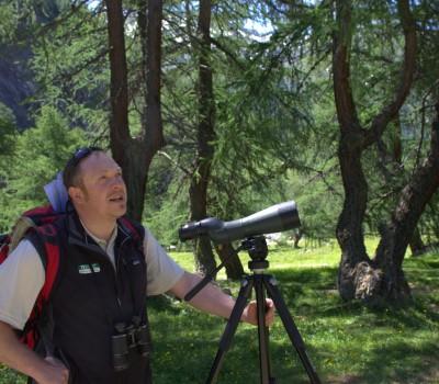Ranger im Nationalpark Hohe Tauern: Andreas Angermeier führt die Menschen zu interessanten Natur-Schauplätzen.