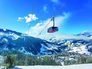 37 Pistenkilometer und fünf Aufstiegshilfen gehören zum Skigebiet Wagrain-Kleinarl. Foto: Bergbahnen-Wagrain.