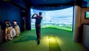 Indoor-Golf oder draußen abschlagen - alles möglich im Hôtel Grand Park.