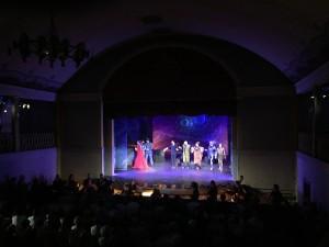 Oper Scipione im Goethe-Theater von bad Lauchstädt