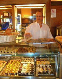 Spitzen-Kuchen im Café von Stefano Amici