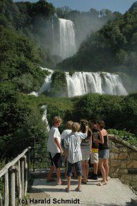 Wasserfall in Süd-Umbrien