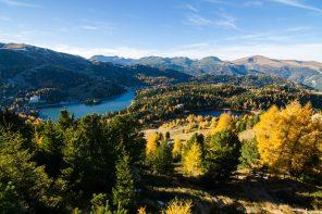 Turracher Höhe – das idyllische Alm-See-Plateau im Herbst