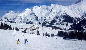 Einmal Warth hin und zurück St. Anton Vorarlberg
