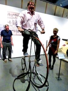 Hochrad Roman Industriemuseum Chemnitz  2016-05-27 Foto Elke Backert
