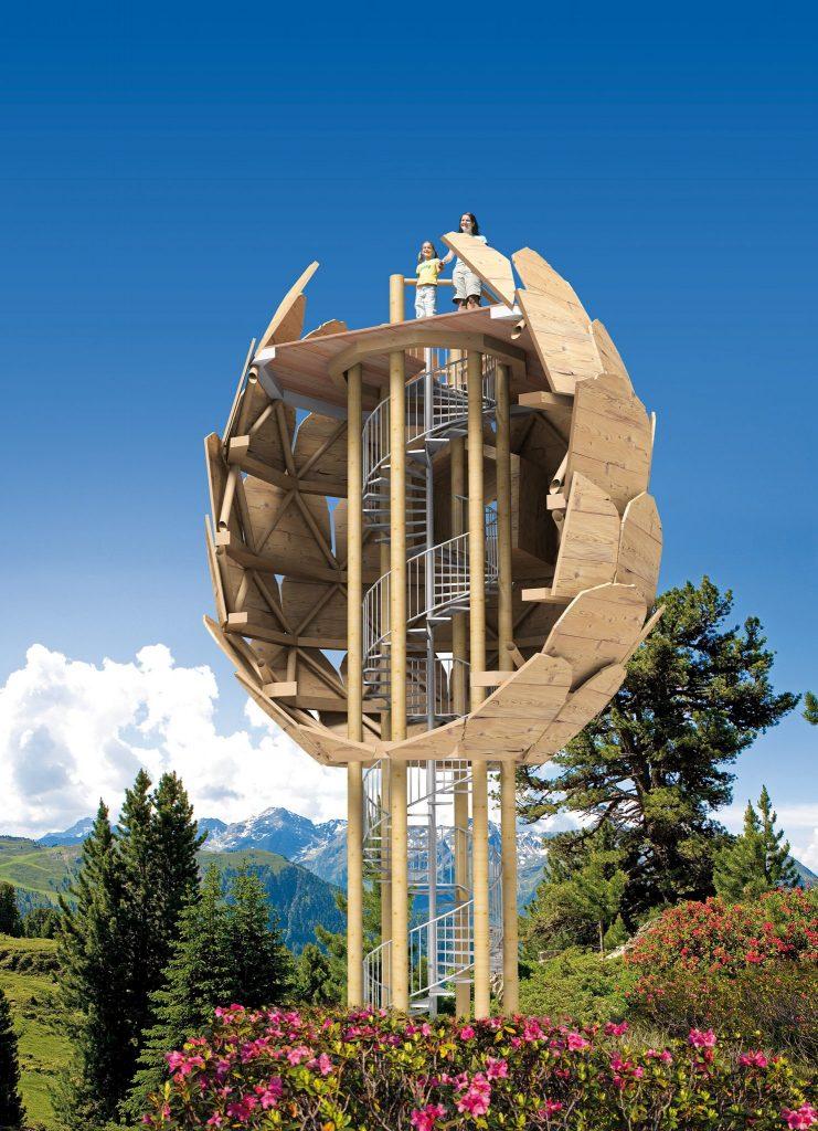 Tirols Spielplätze am Berg