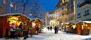 Advent in der Fußgängerzone von Bad Hofgastein