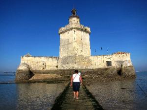 Fort Louvois, bei Ebbe zu Fuß erreichbar