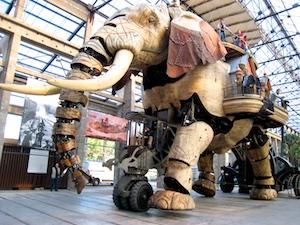 Ile des Machines, Elefant