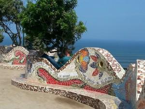 Im Liebesgarten von Lima