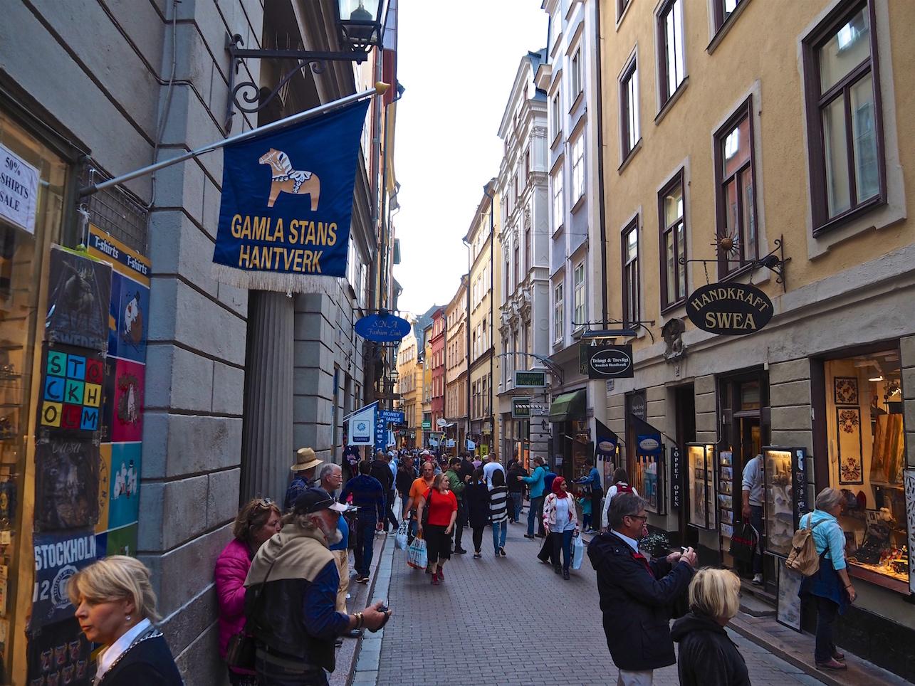 In Stockholms Altstadt Gamla Stan