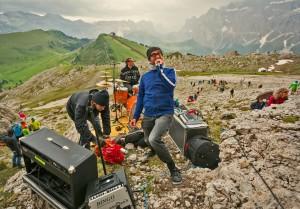 Jazzen in den Grödner Dolomiten in der Langkofel-Wand (c) GPichler