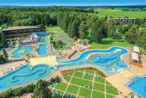 Die Johannesbad Therme in Bad Füssing ist das größte Heilwasser-Thermalbad Deutschlands.