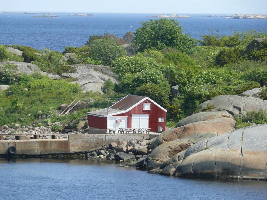 Und eine rote Hütte ist immer nah