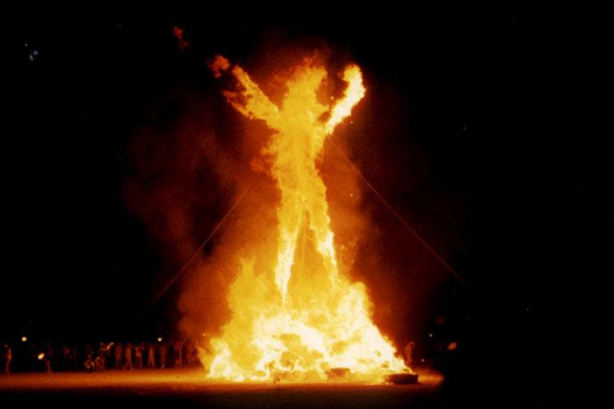 Burning Man Festival Nevada Reno Black-Rock-Desert