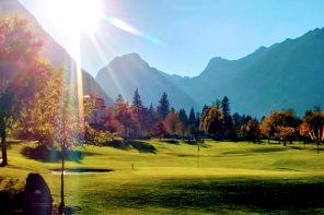 Indian Summer Golf am Achensee