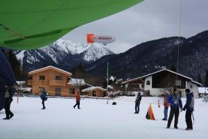 Luftschiffmeisterschaft am Tegernsee Start-Ziel-Gelände, Foto Siefert