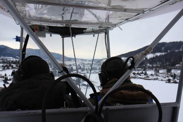 Luftschiffmeisterschaft im Anflug auf den Tegernsee, Foto Siefert