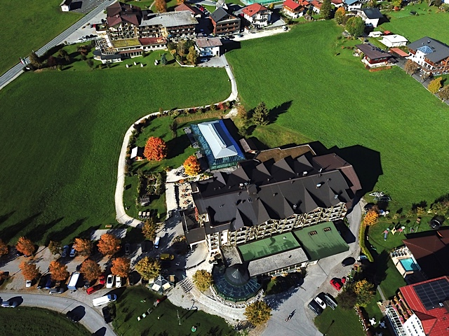 Hotel Wiesenhof - Luftbild