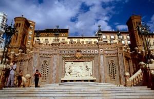 Maestrazgo Teruel Denkmal Die Liebenden