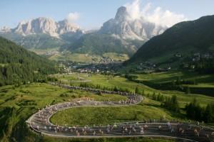 Von Michil Costa ins Leben gerufen: Der Dolomiten-Rad-Marathon, Foto: La Perla