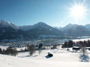 Sport und Genuss im Oberstdorfer Winter