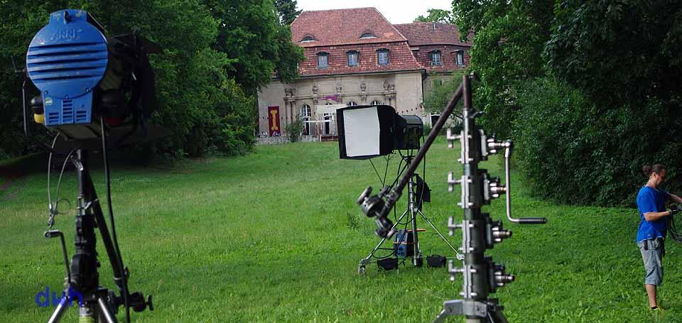 Das Schloss dient häufig als Filmkulisse