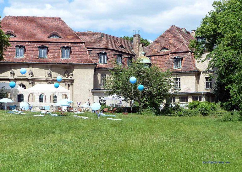 Heute ist Schloss Marquardt ein Feierschloss Foto: Weirauch