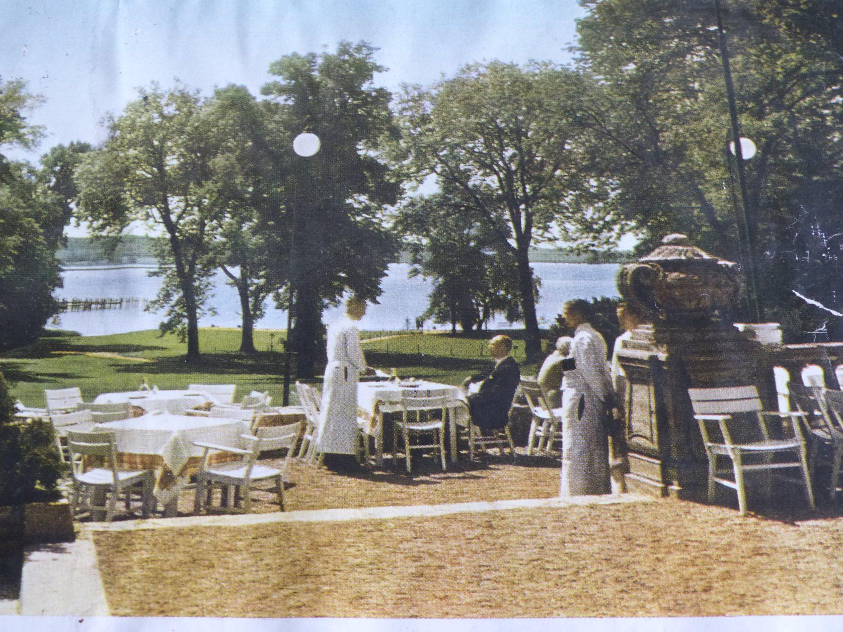 Postkarte aus Kempinskis Zeiten Foto: Archiv Weirauch