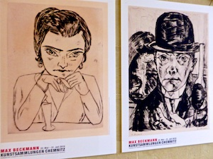 Max Beckmann Selbstportraits Kunstsammlungen Chemnitz    2016-05-27 Foto Elke Backert