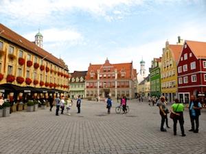 Memmingen – eine Kleinstadt im Allgäu mit großer Vergangenheit